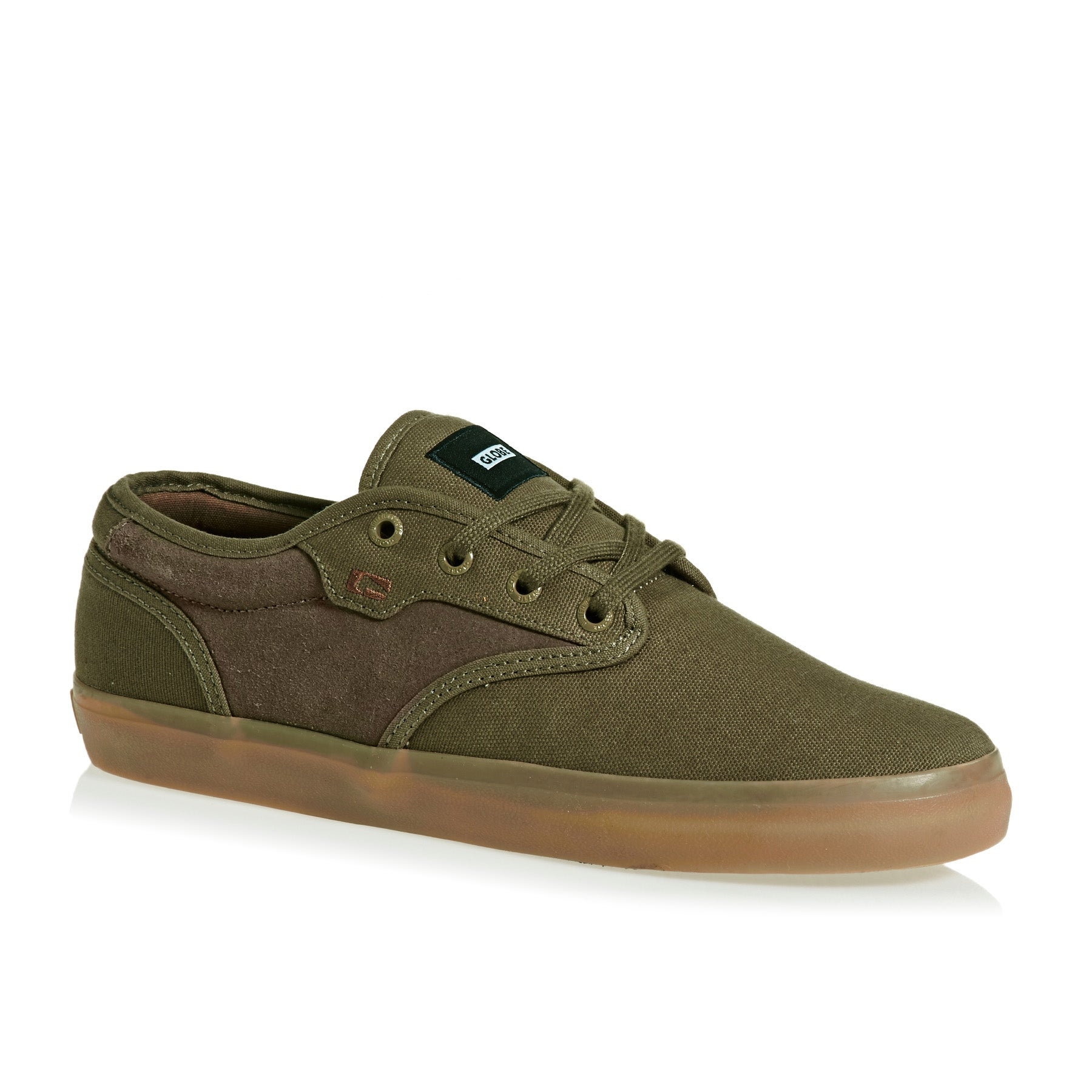 Globe Motley Shoes - Olive Brown/gum