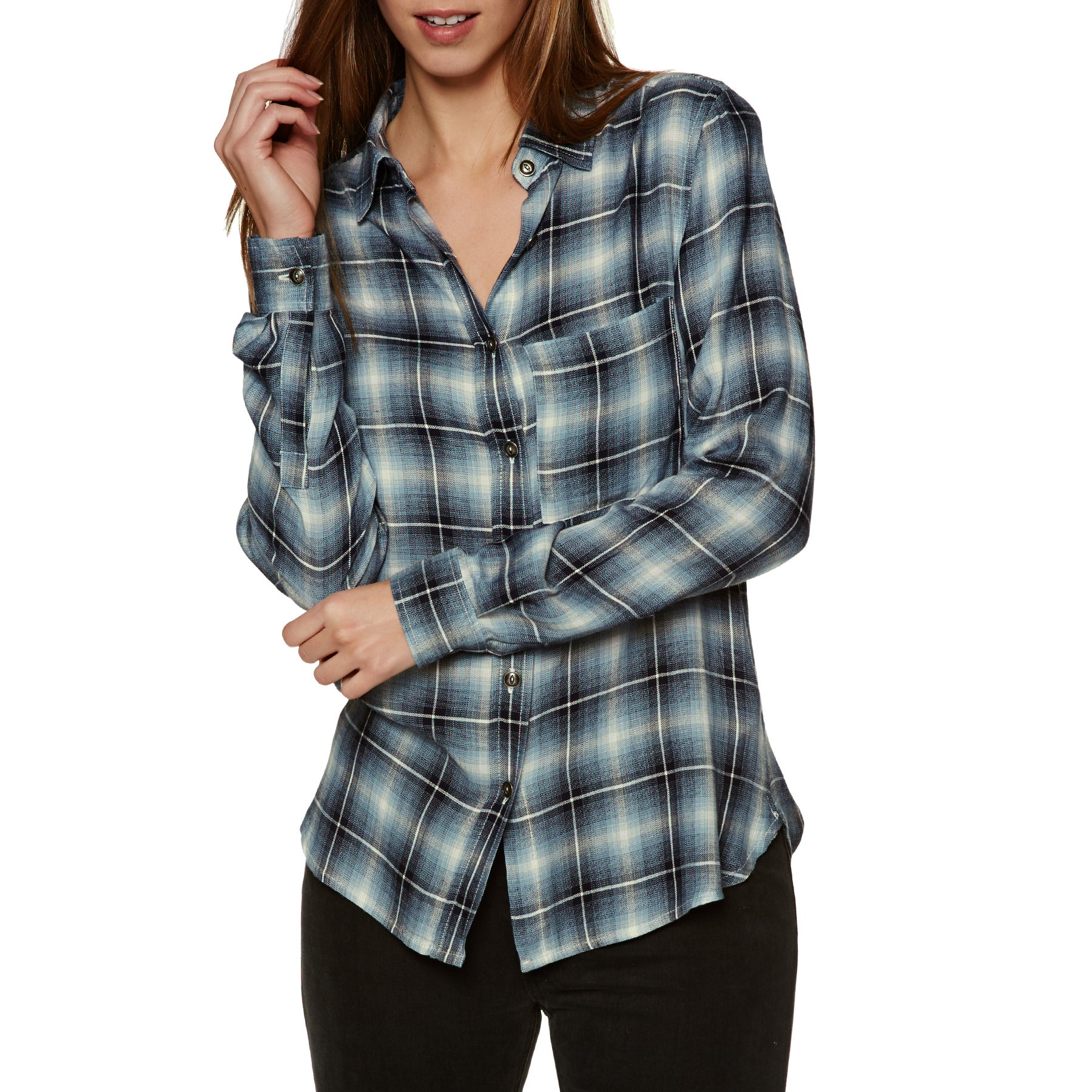 SWELL Maya Check Viscose Womens Shirt - Multi