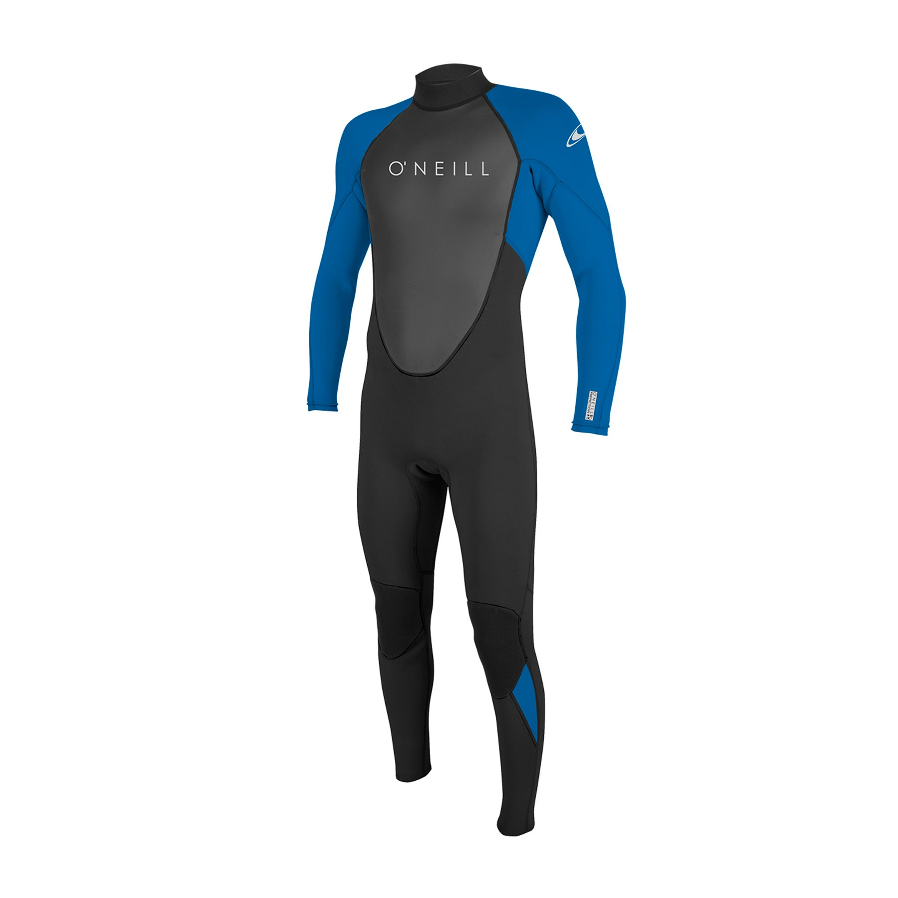 O Neill Youth Reactor II 3/2mm Back Zip Wetsuit - Black Ocean