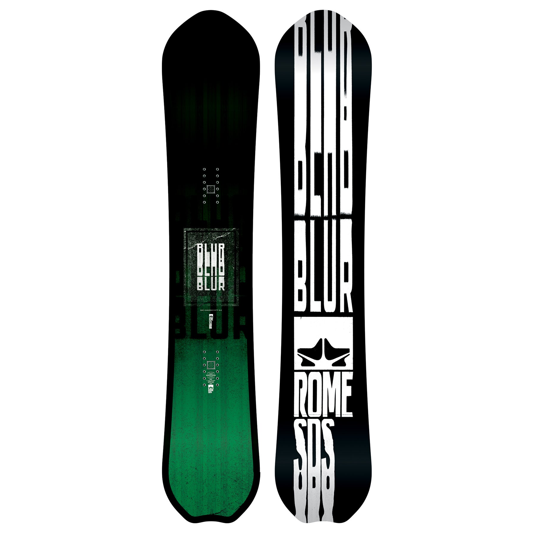 Rome Blur 2018 Snowboard - All Sizes