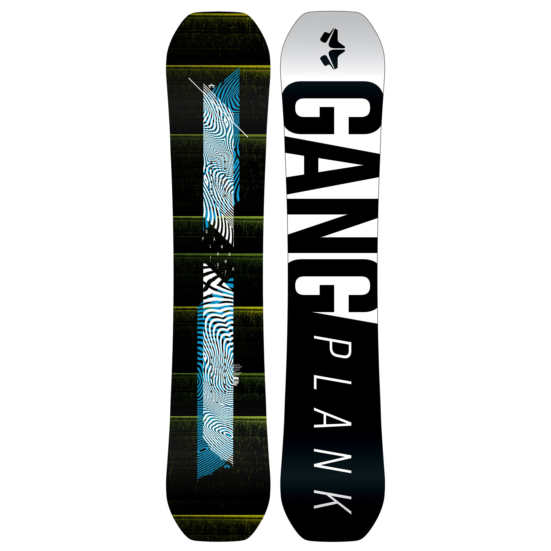 Rome Gang Plank Midwide 2018 Snowboard - All Sizes