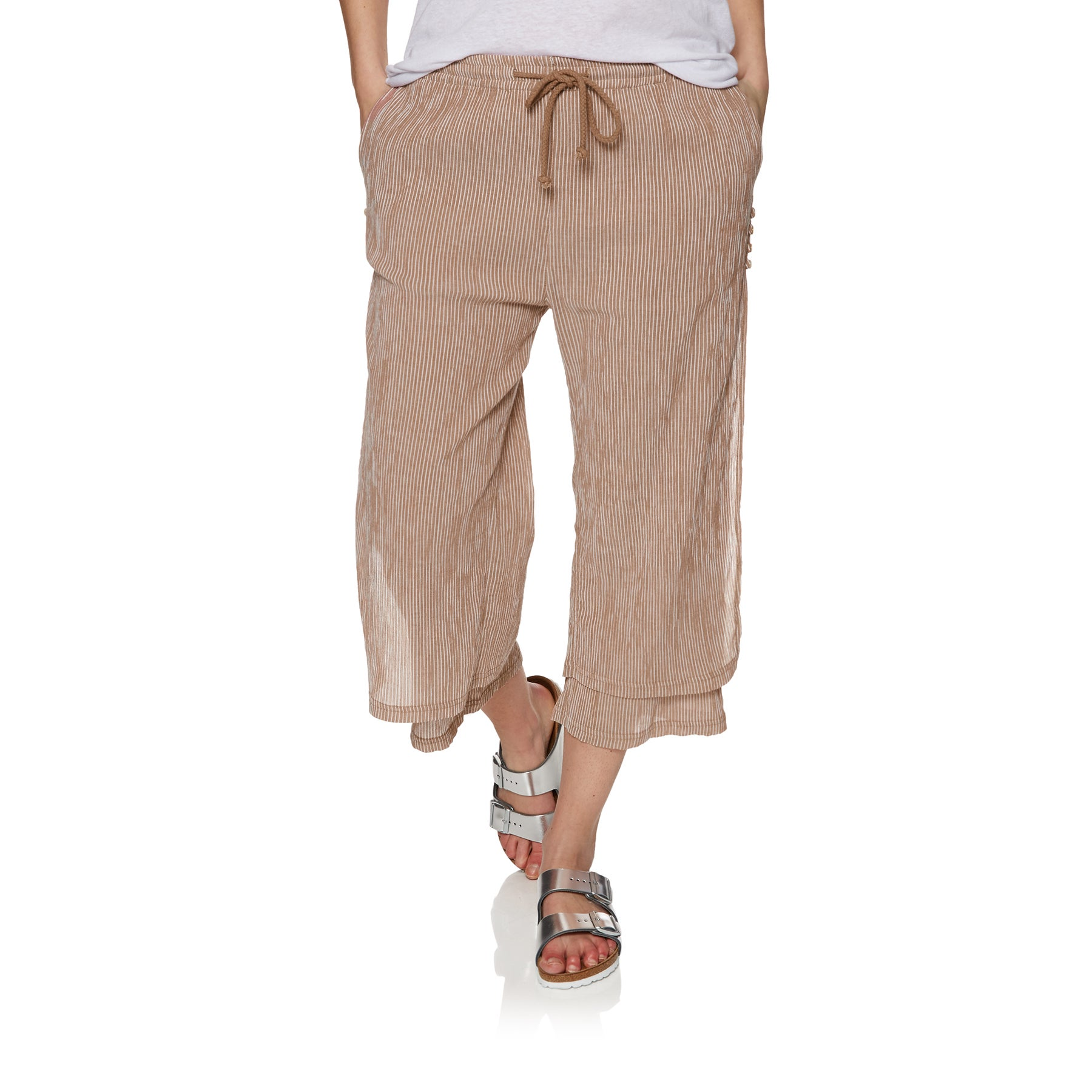 The Hidden Way Stevie Womens Trousers - Rouge