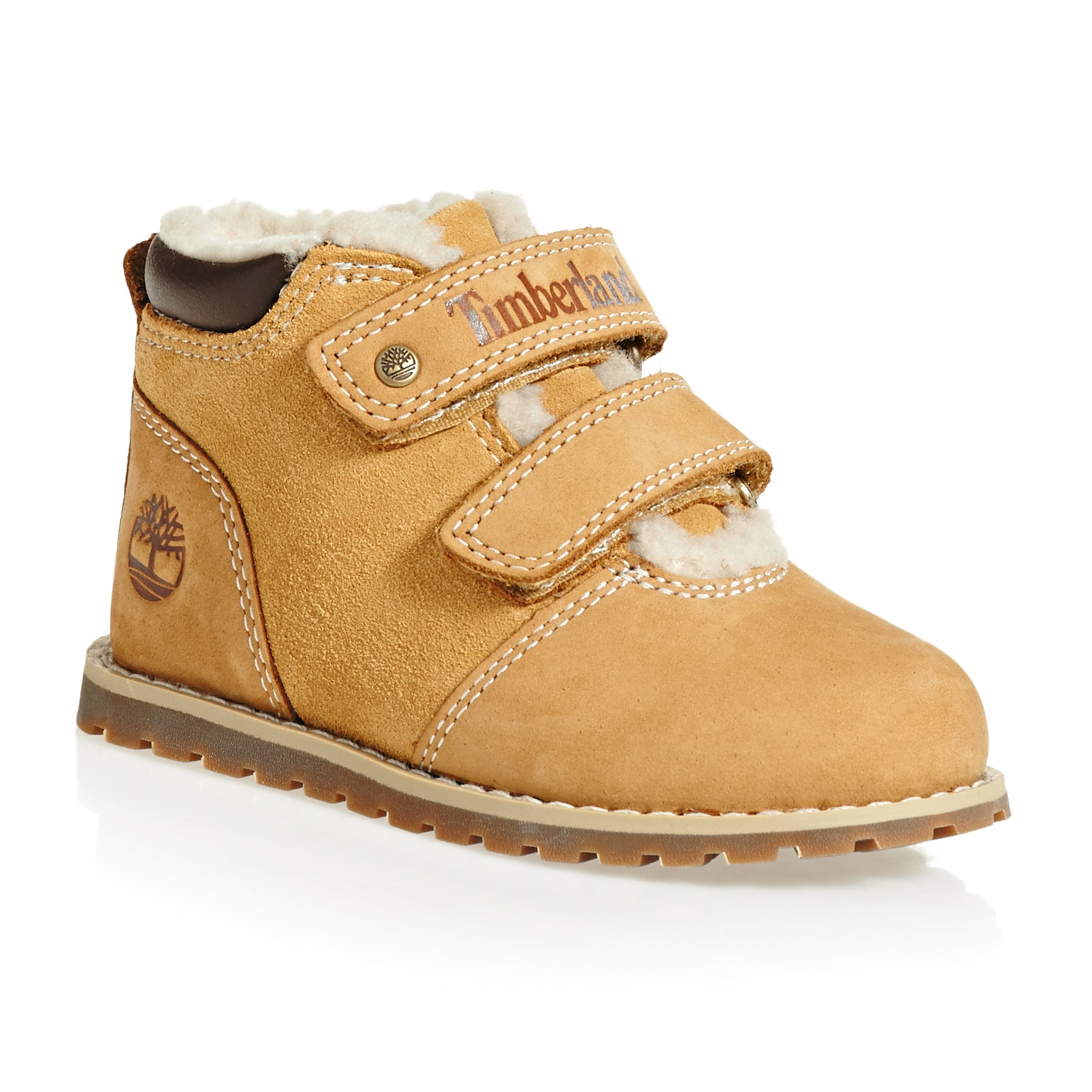 Timberland 6 In Premium Waterproof Boys Boots - Forged Iron Waterbuck