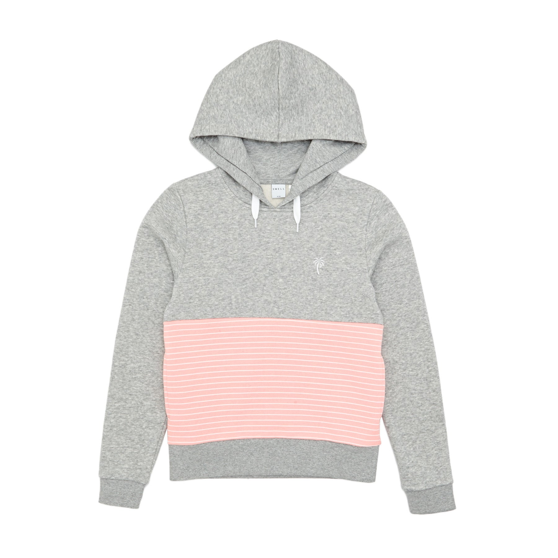 SWELL Kellie Girls Pullover Hoody - Pink Marle