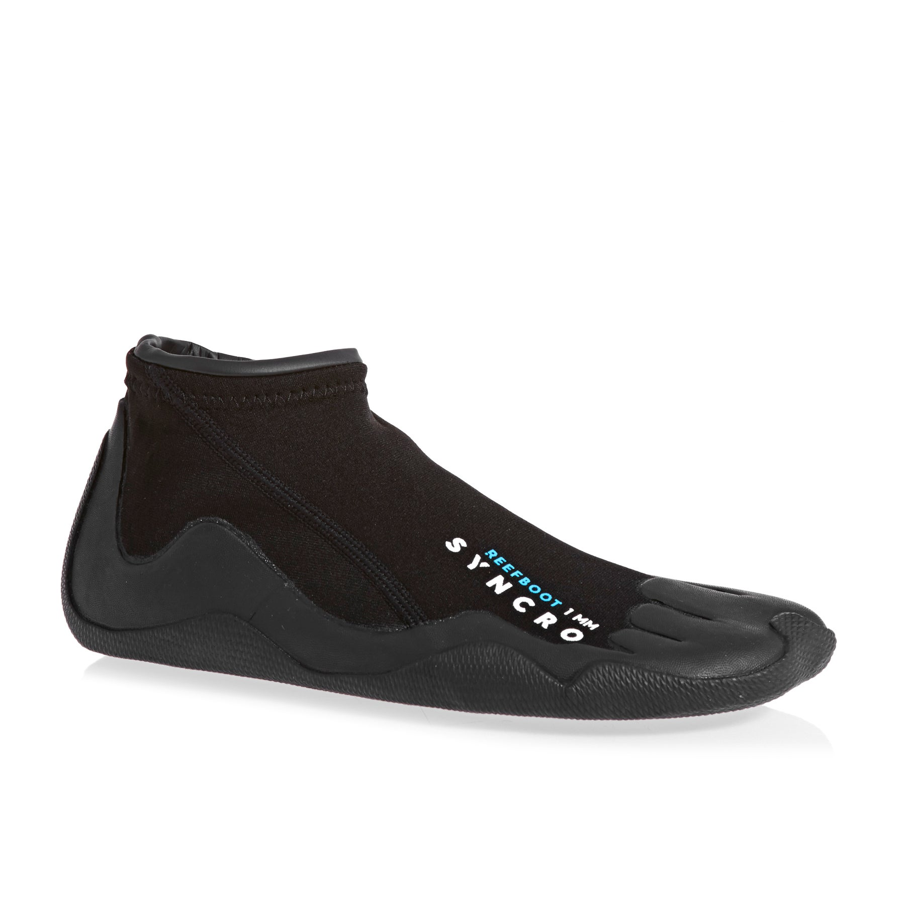 Quiksilver Syncro 1mm 2018 Reef Wetsuit Boots - Black