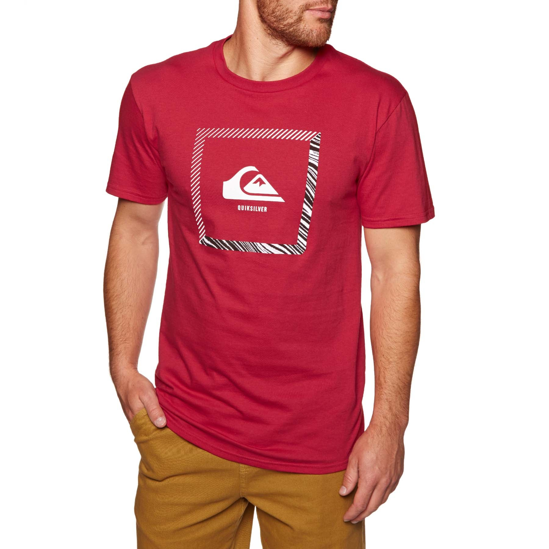 Quiksilver Beat The Heat Short Sleeve T-Shirt - Rrd0