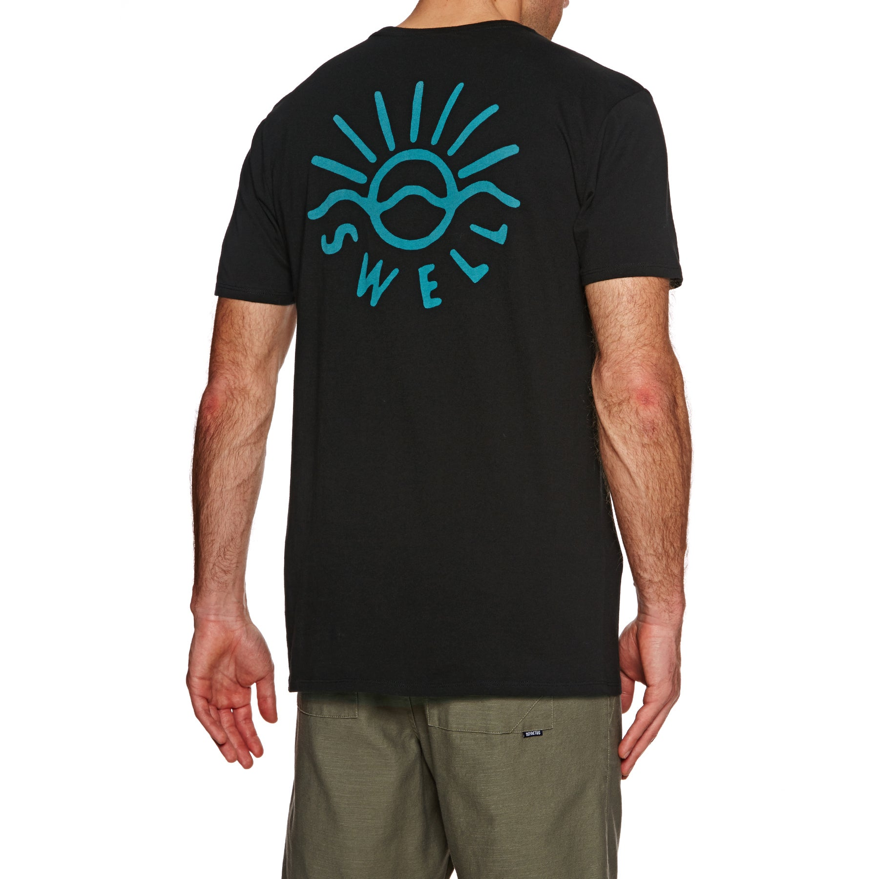 SWELL Sunshine Short Sleeve T-Shirt - Black