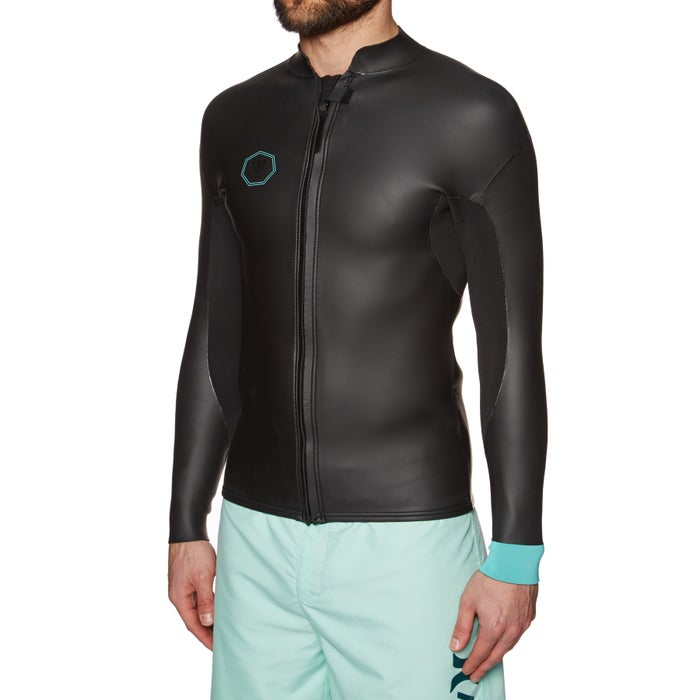 Vissla North Seas Smoothy 2mm 2019 Long Sleeve Front Zip Wetsuit Jacket