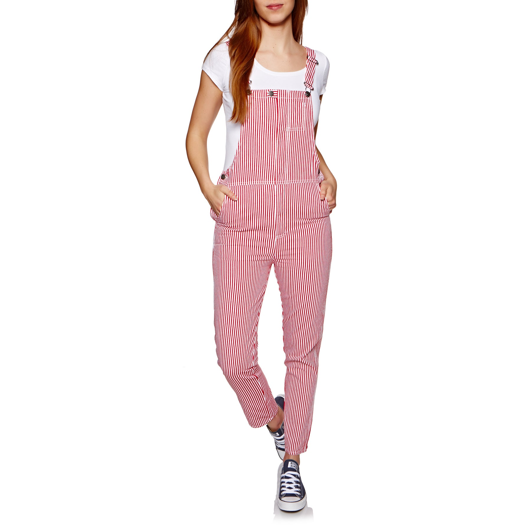 Afends Siren Womens Jumpsuit - White Spice