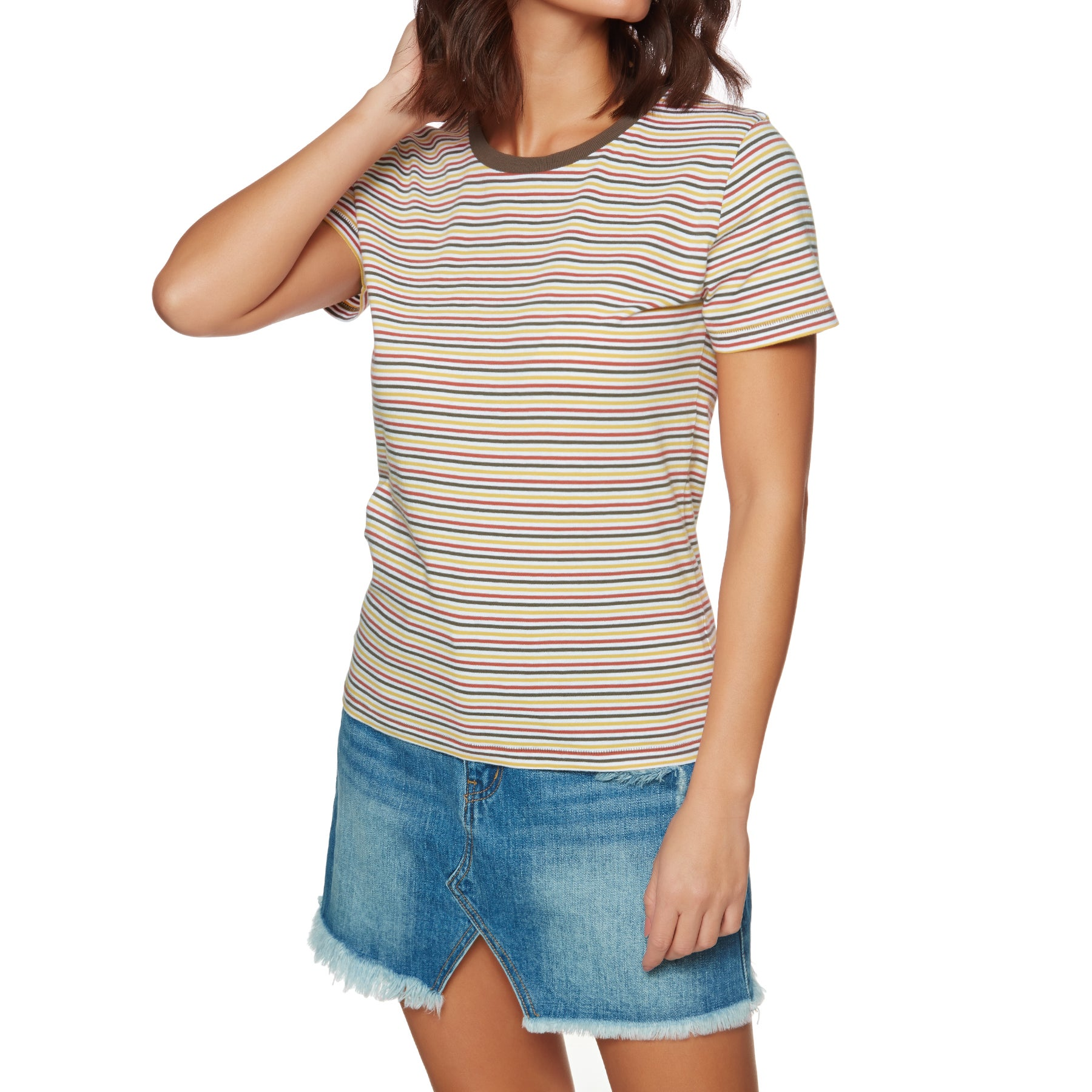 The Hidden Way Matilda Womens Short Sleeve T-Shirt - Multi