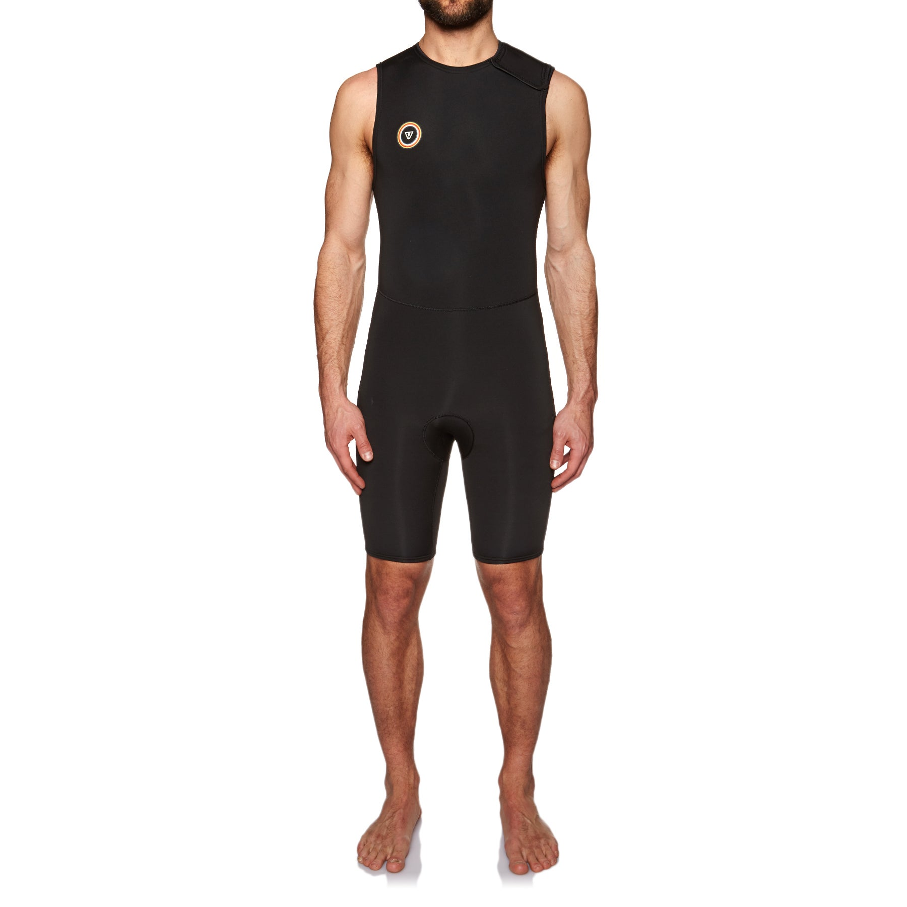 Vissla 7 Seas Tripper Collection 2mm 2019 Sleeveless Short John Wetsuit - Black