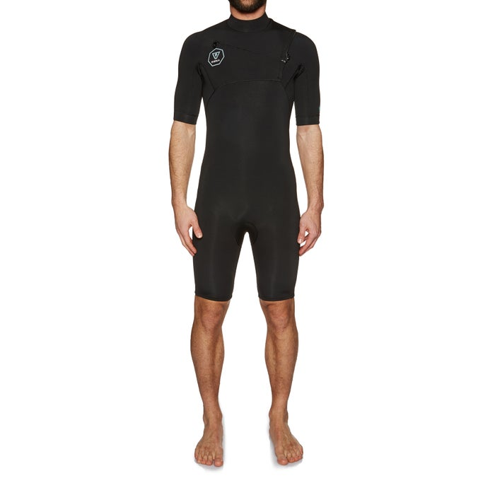 Vissla 7 Seas 2mm Chest Zip Shorty Wetsuit