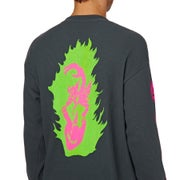 Welcome Creepers Heavyweight Thermal Long Sleeve T-Shirt