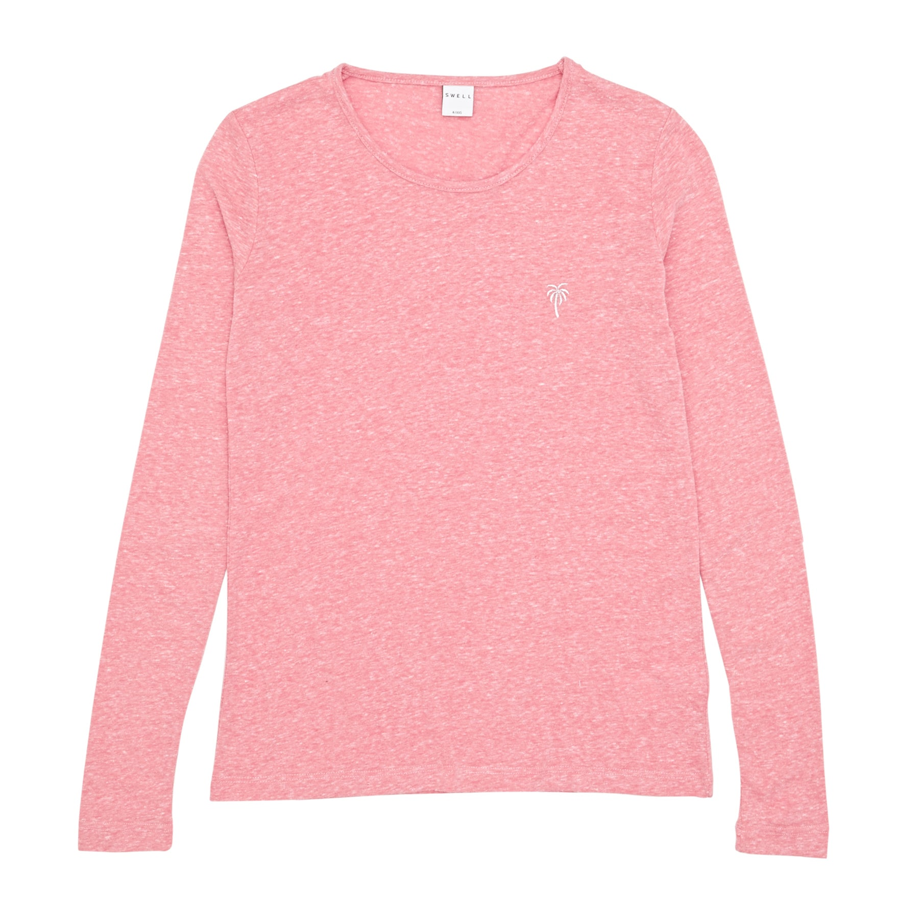 SWELL Kellie Girls Long Sleeve T-Shirt - Pink Marle