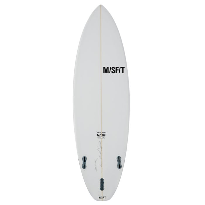 Misfit Suspended Particle Fcsii 3 Fin Surfboard