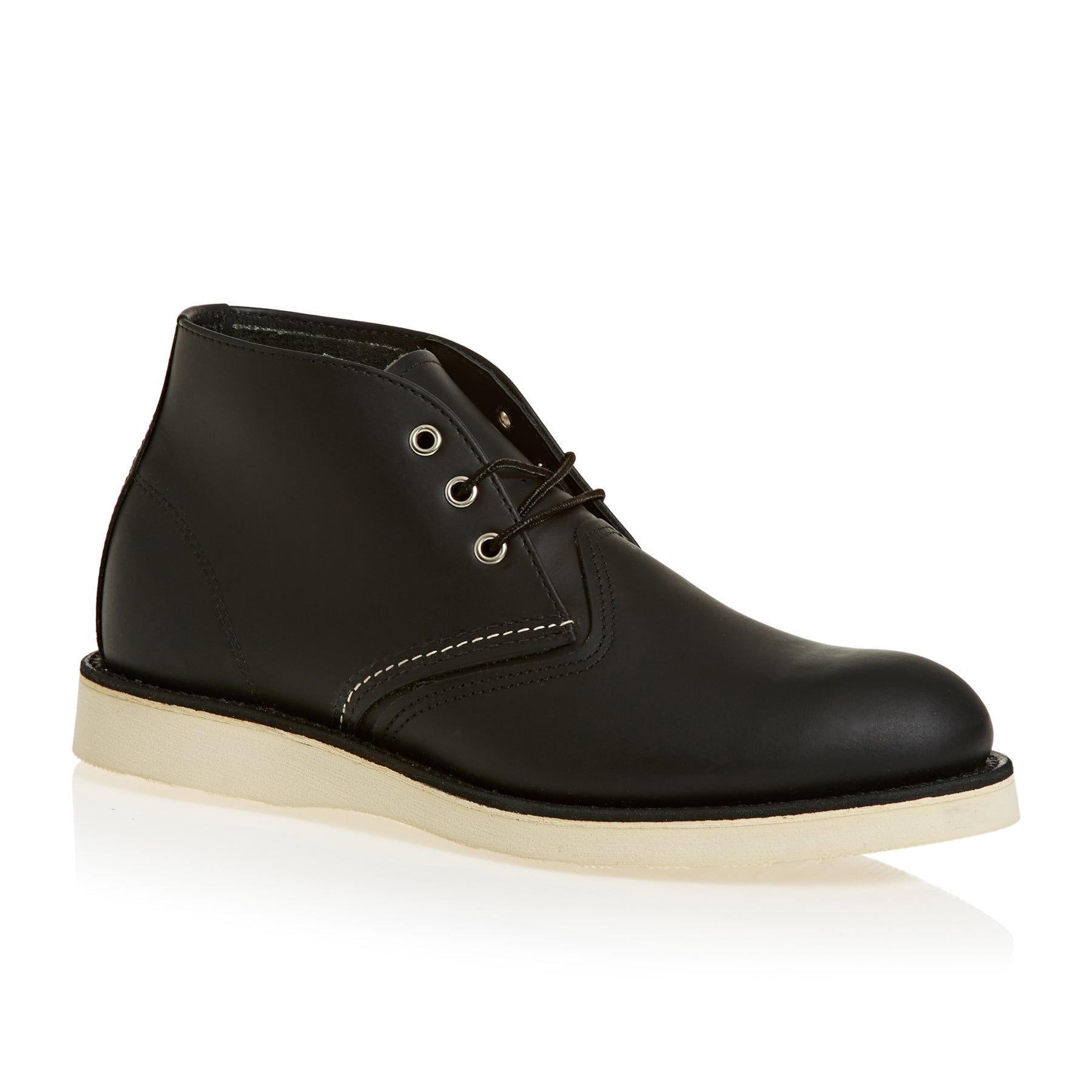 Red Wing 3148 Work Chukka Boots - Black Chrome