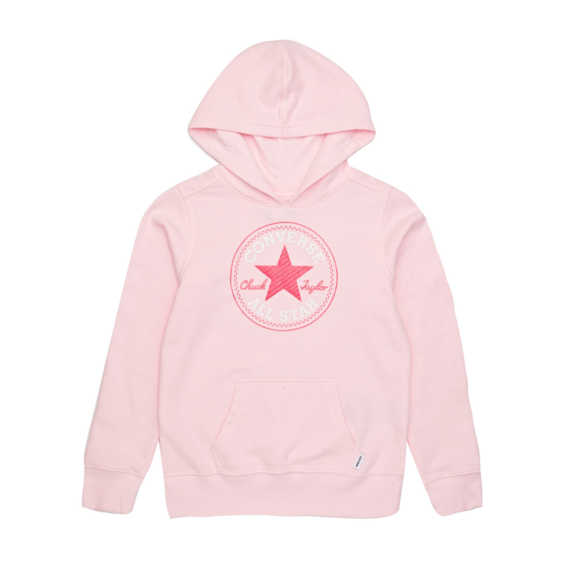 Jersey con capucha Girls Converse Chuck Patch - Arctic Punch