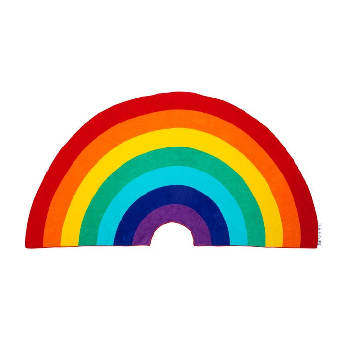 Beach Towel Sunnylife Rainbow Shaped