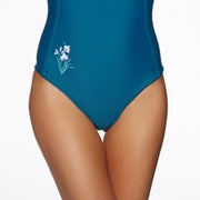 Nine Islands Piper Embroidered One Piece Womens 水着