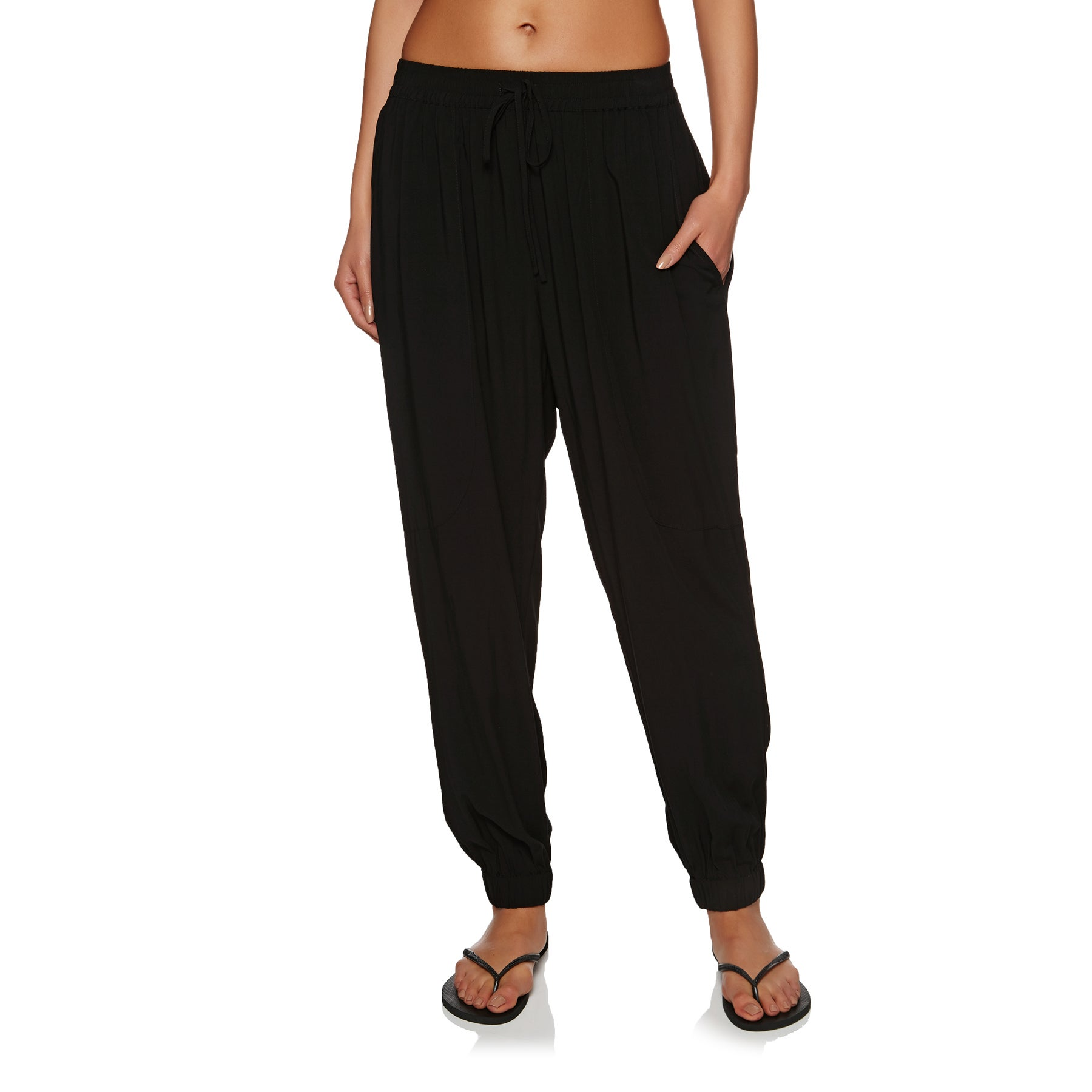 Seafolly Voile Womens Trousers - Black