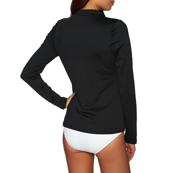 3d8c6bbe9d832 Seafolly Long Sleeve Sunvest Womens Rash Vest available from Surfdome