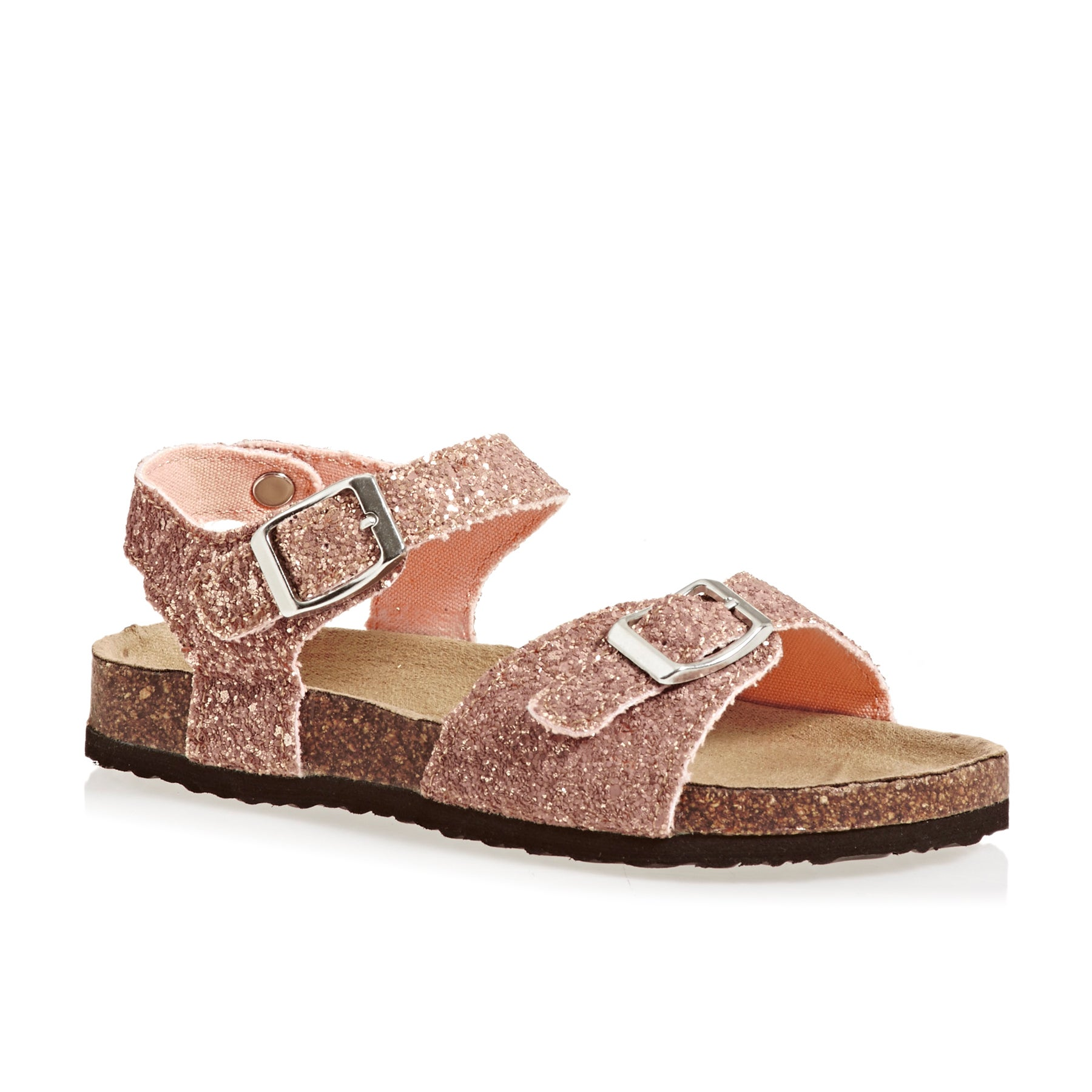 Joules Tippytoes Sandals - Gold Glitter
