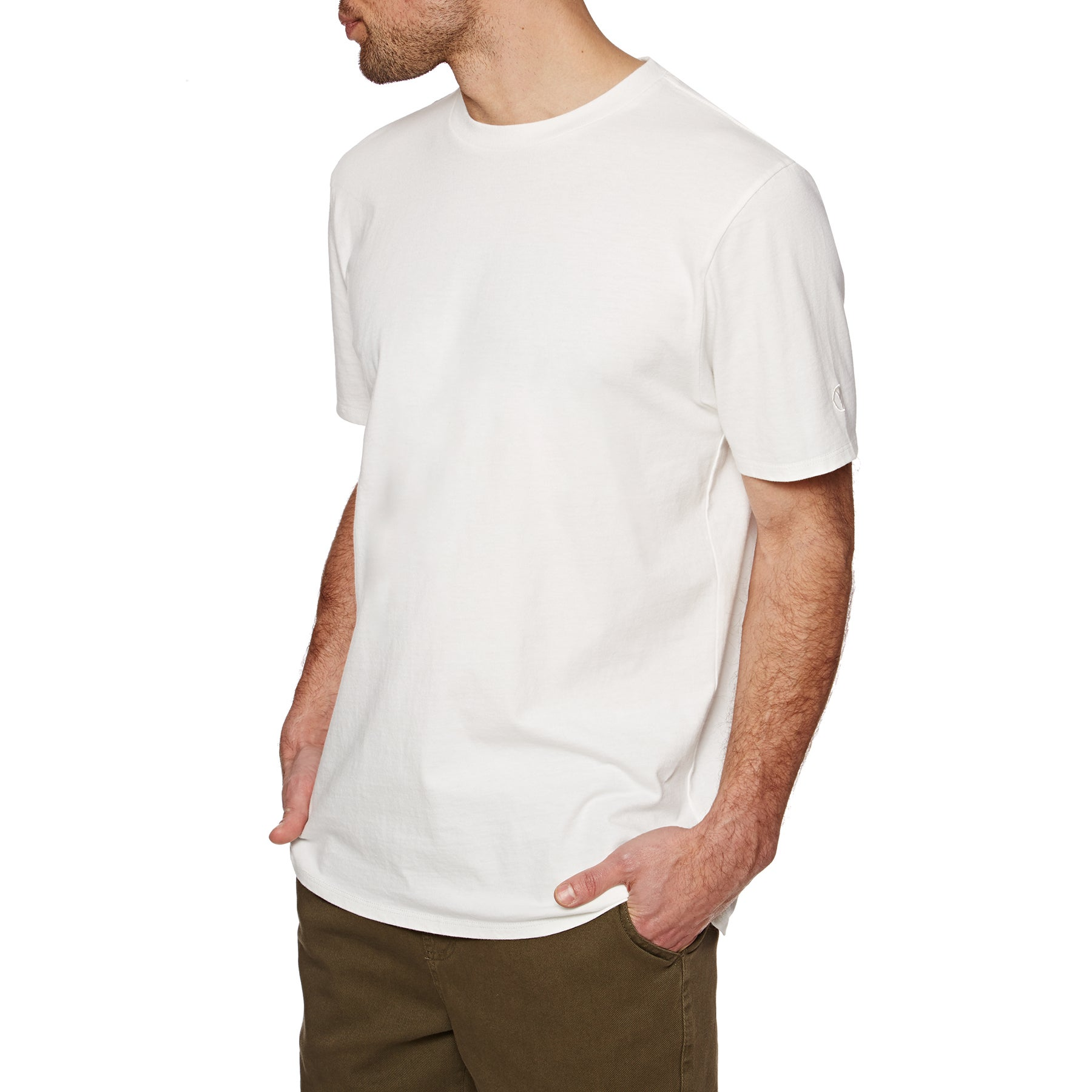 Camiseta de manga corta SWELL Basic - Off White