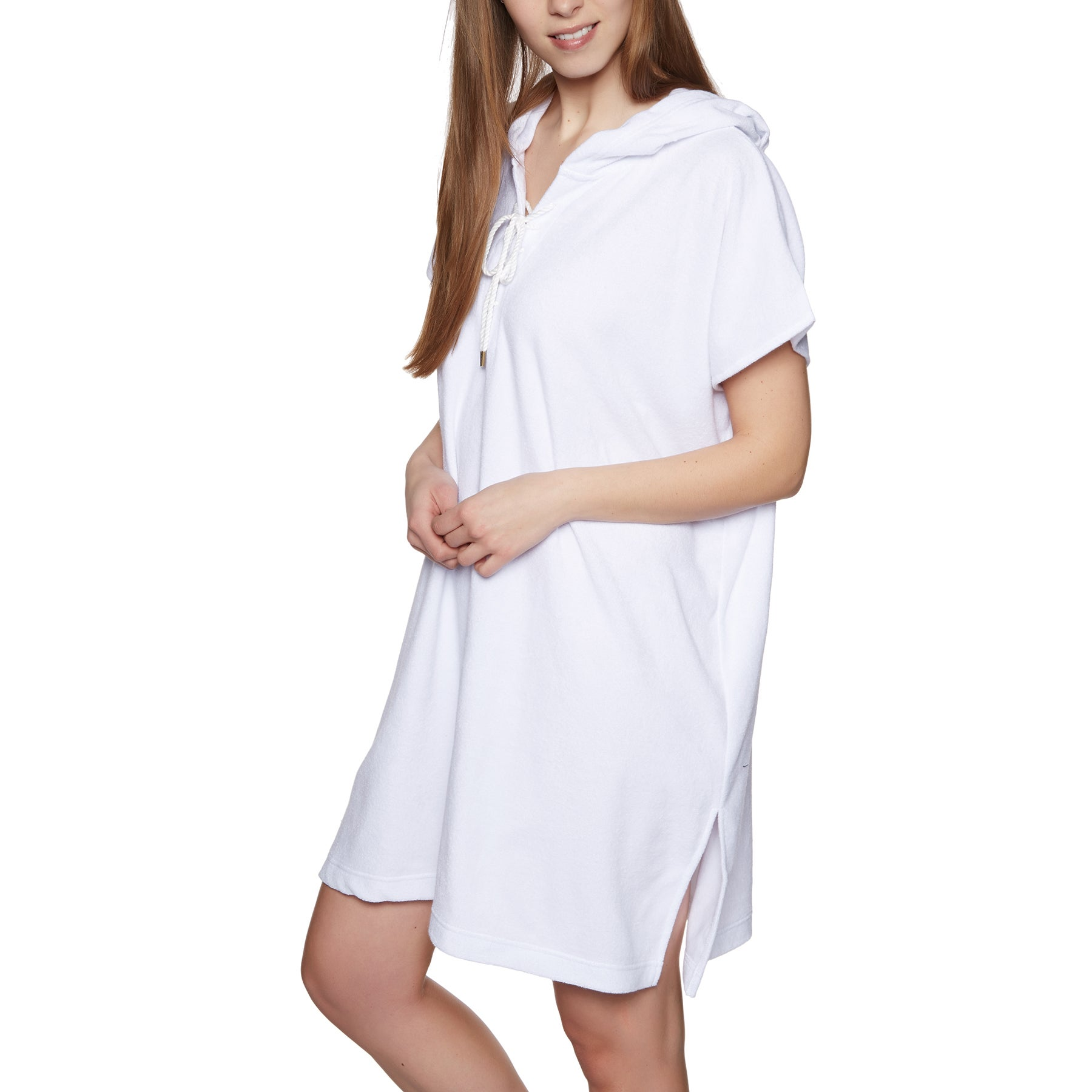 Seafolly Terry Sleeveless Cover Up ワンピース - White