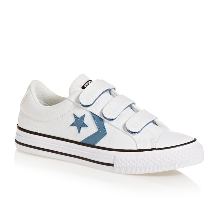 187962e871084e Converse Star Player 3v Ox Junior Boys Shoes available from Surfdome