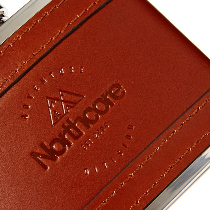 Northcore Adventure 4 oz Leather Hip Kolba
