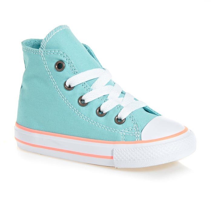 f1569bc92dc5 Converse Chuck Taylor All Star Hi Infant Girls Shoes available from ...
