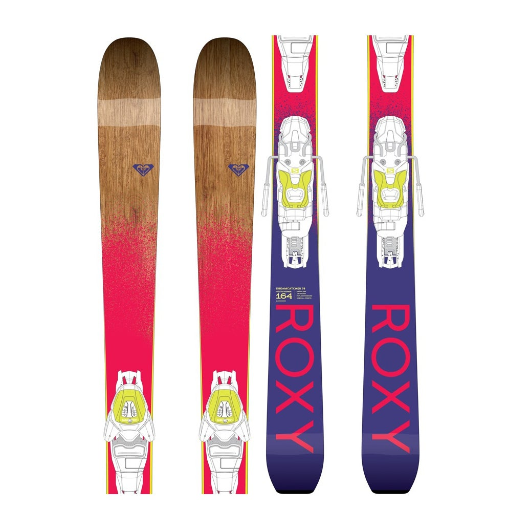 Roxy Dreamcatcher 78 With Lithium 10 Bindings Skis - Multicoloured