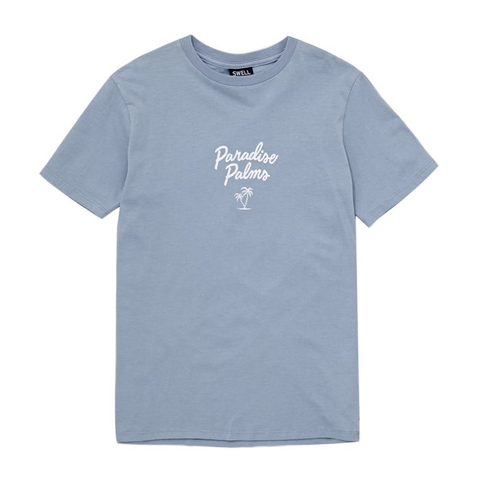 SWELL Paradise Palms Boys Short Sleeve T-Shirt