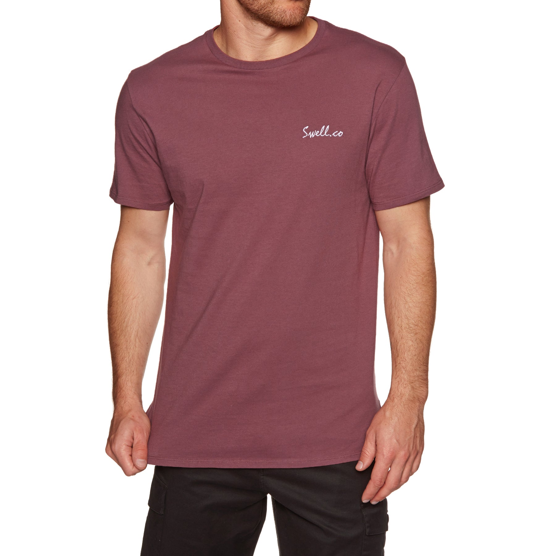SWELL Swellco Short Sleeve T-Shirt - Washed Blood