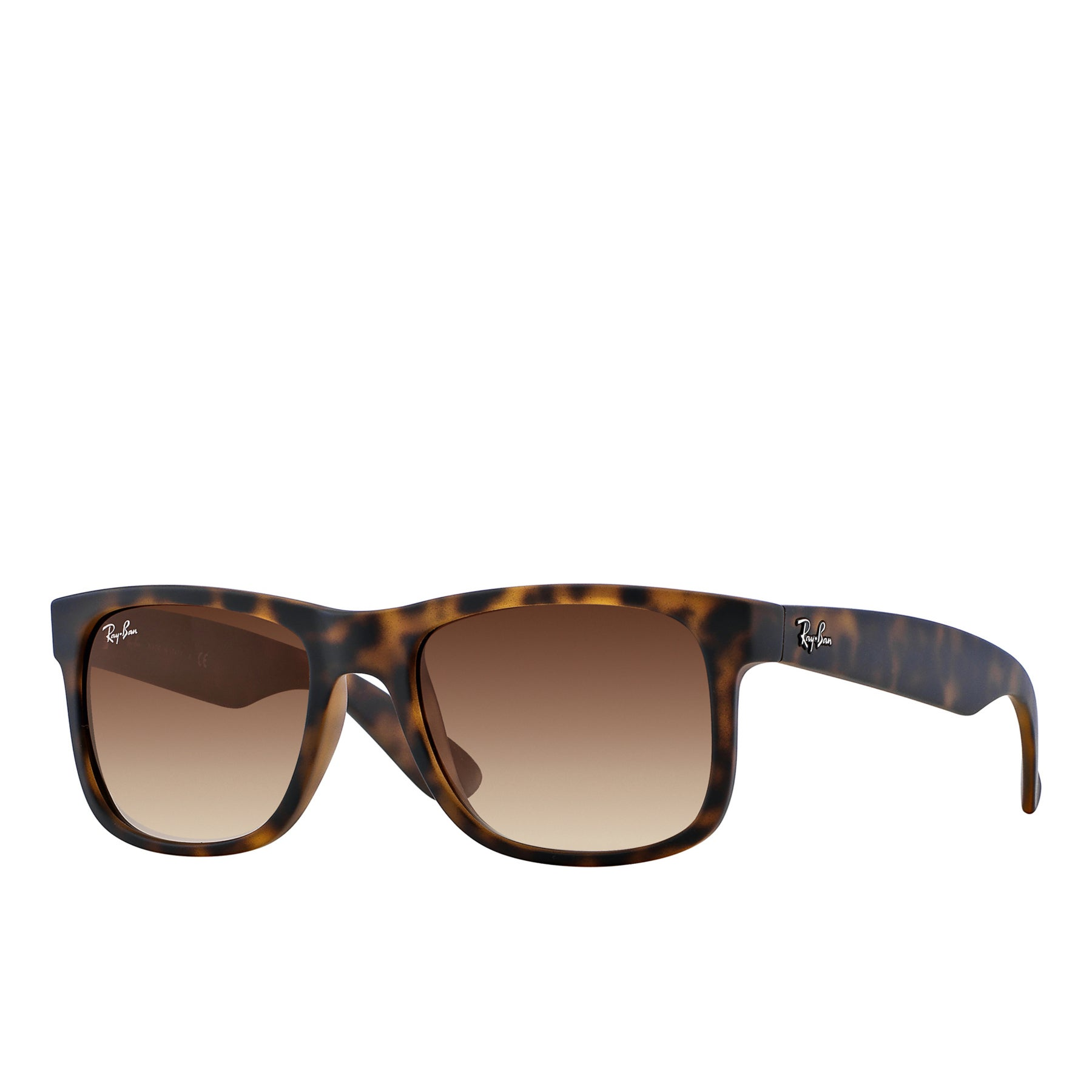 Ray-Ban Justin Wayfarer Sunglasses - Tortoise Brown