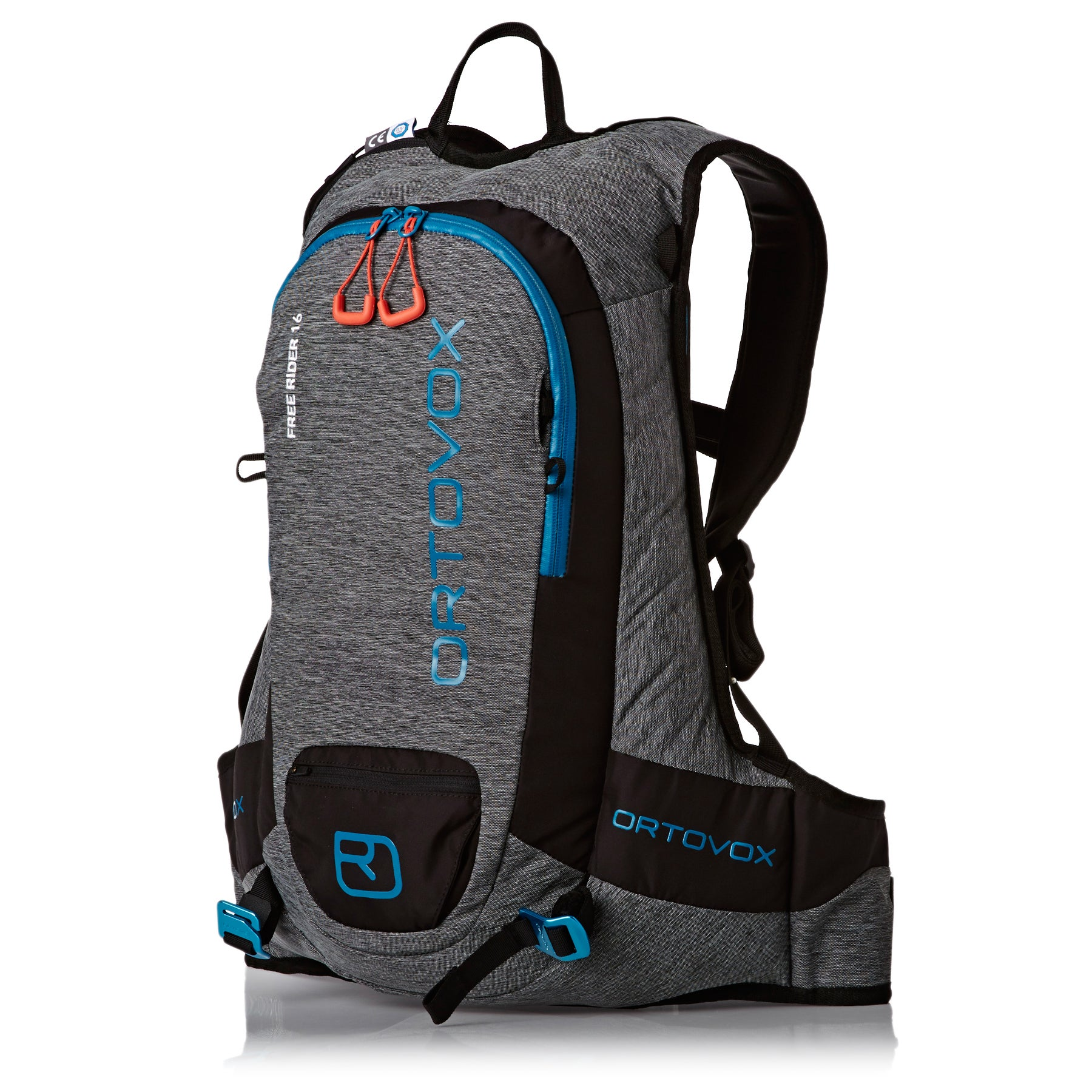 Ortovox Free Rider 16R Snow Backpack - Black Anthracite Blend