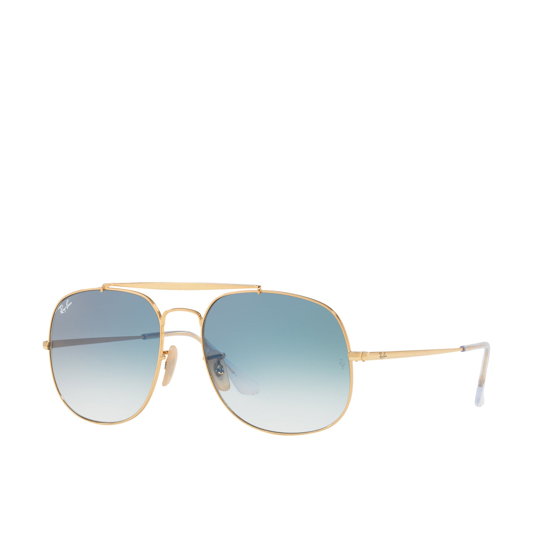 Ray-Ban RB3561 Sunglasses - Gold Blue Gradient
