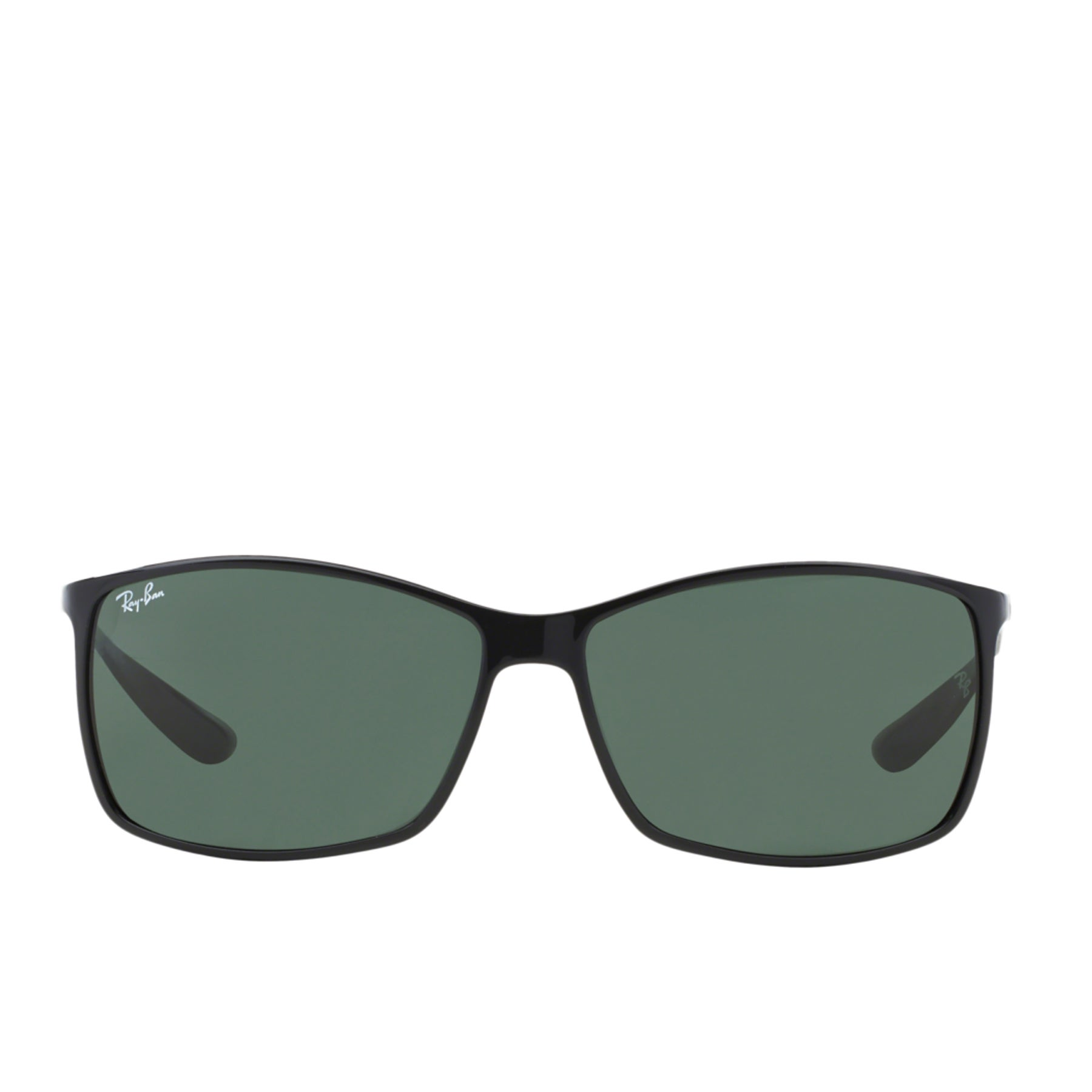 Ray-Ban Liteforce Sunglasses - Polarised   Matte Black Dark Green