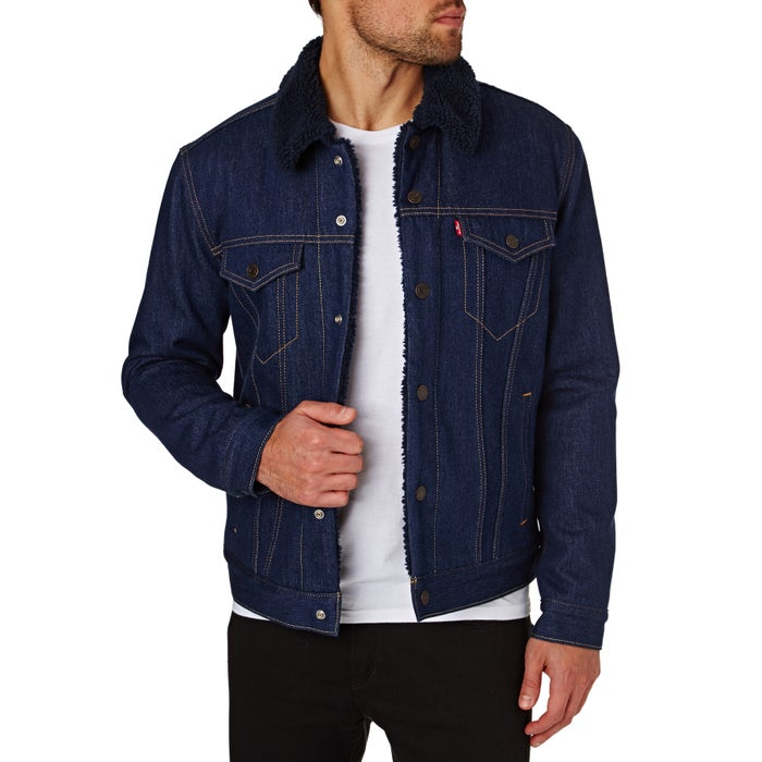 626ad49d9c9 Levis Type 3 Sherpa Trucker Jacket available from Surfdome