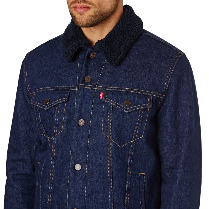 58269a4c006 Levis Type 3 Sherpa Trucker Jacket available from Surfdome