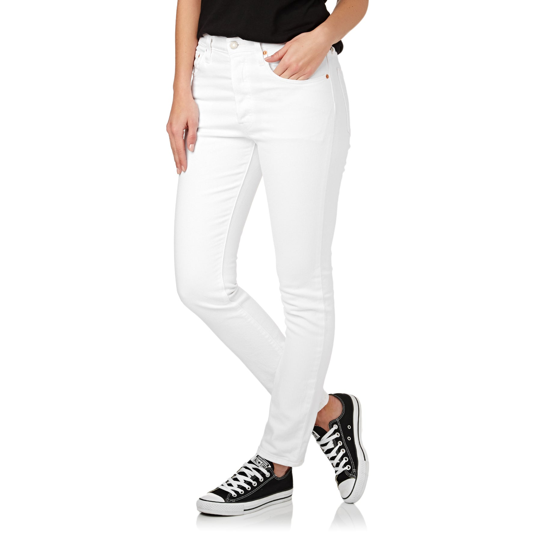 Levis 501 Skinny Damen Jeans - In The Clouds