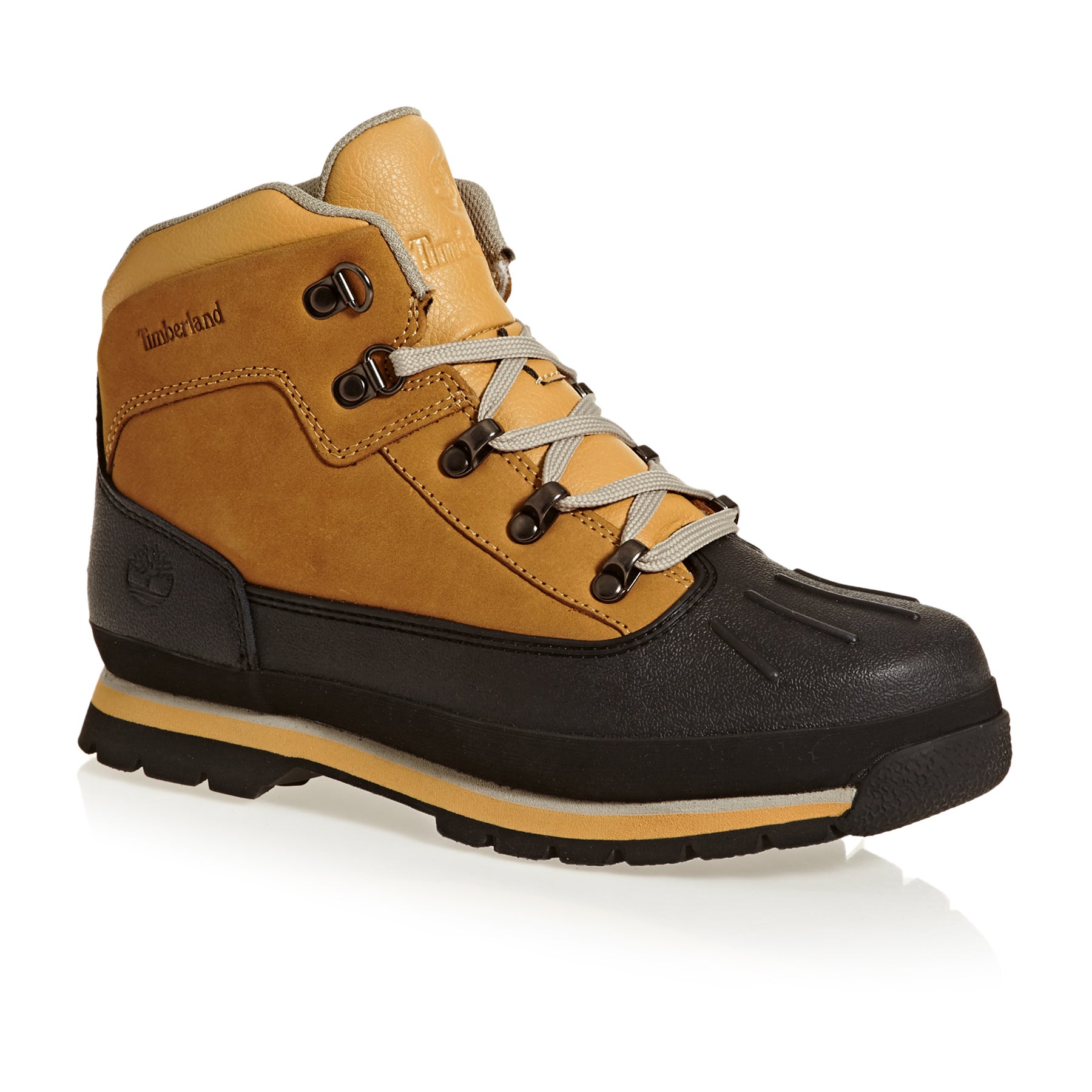 Timberland Junior Euro Hiker Shell Toe Jungen Stiefel - Brown