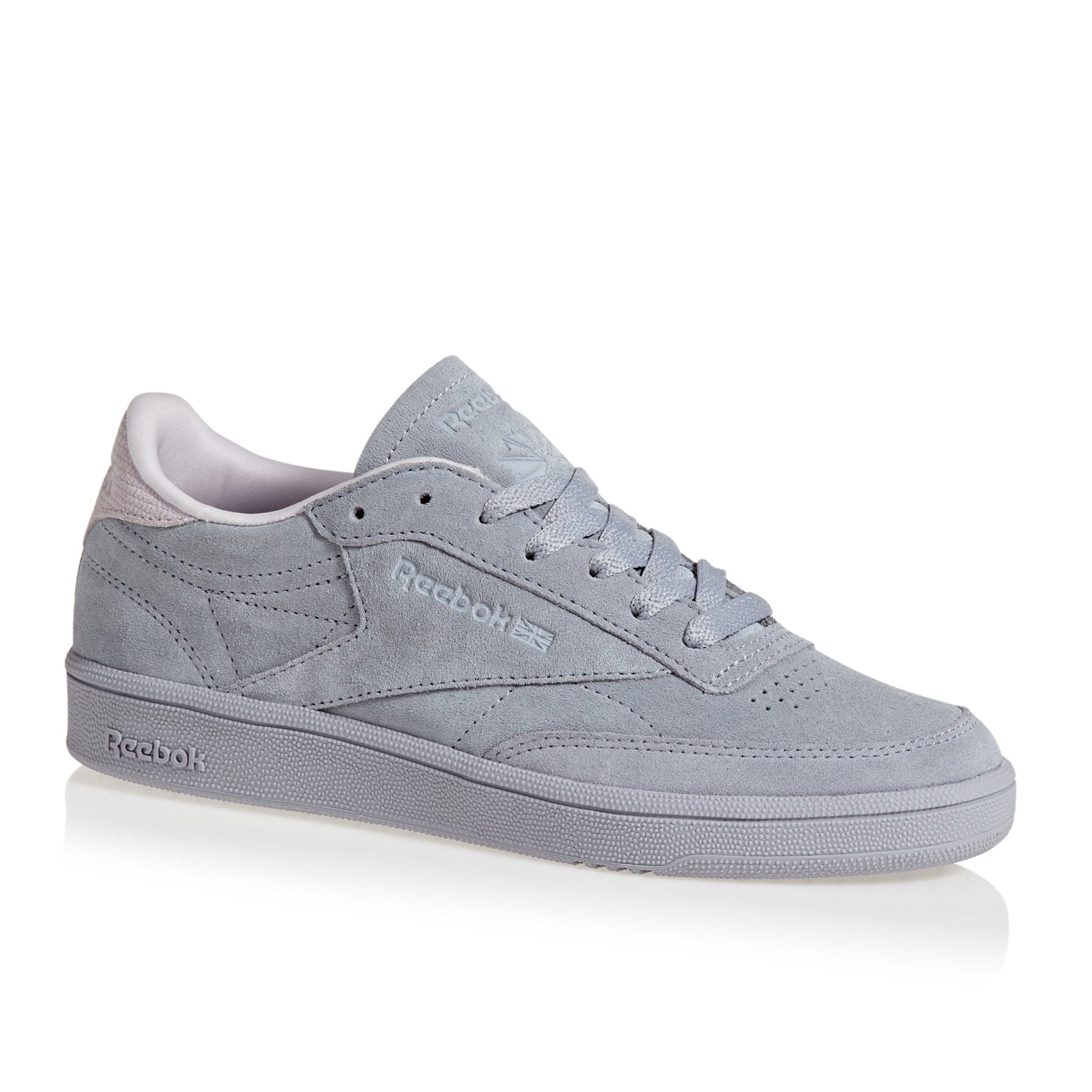 Reebok Club C 85 Womens Shoes - Purple Fog / Quartz