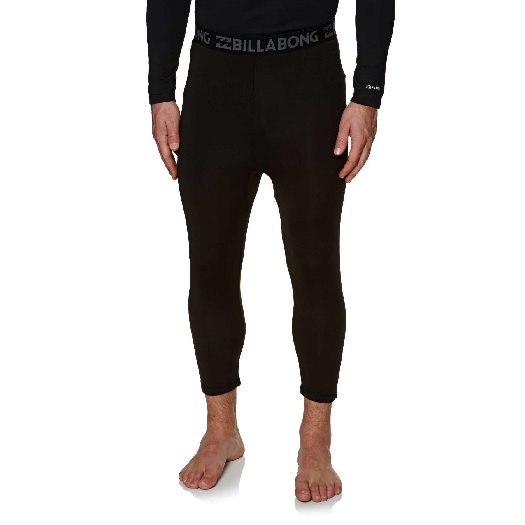 Billabong Under Pant Operator Technical Base Layer Leggings - Black