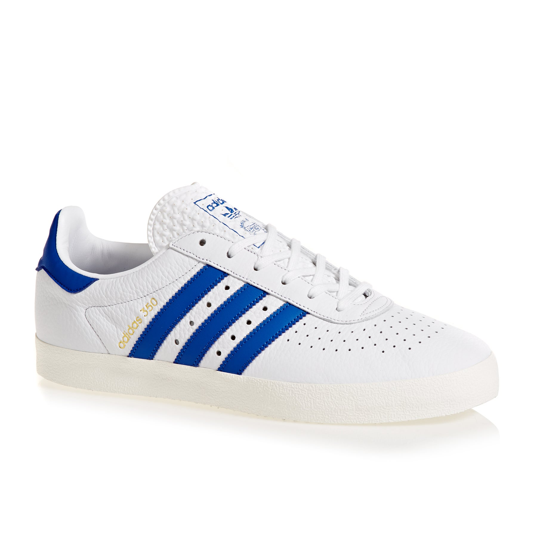 Adidas Originals 350 Shoes - White blue