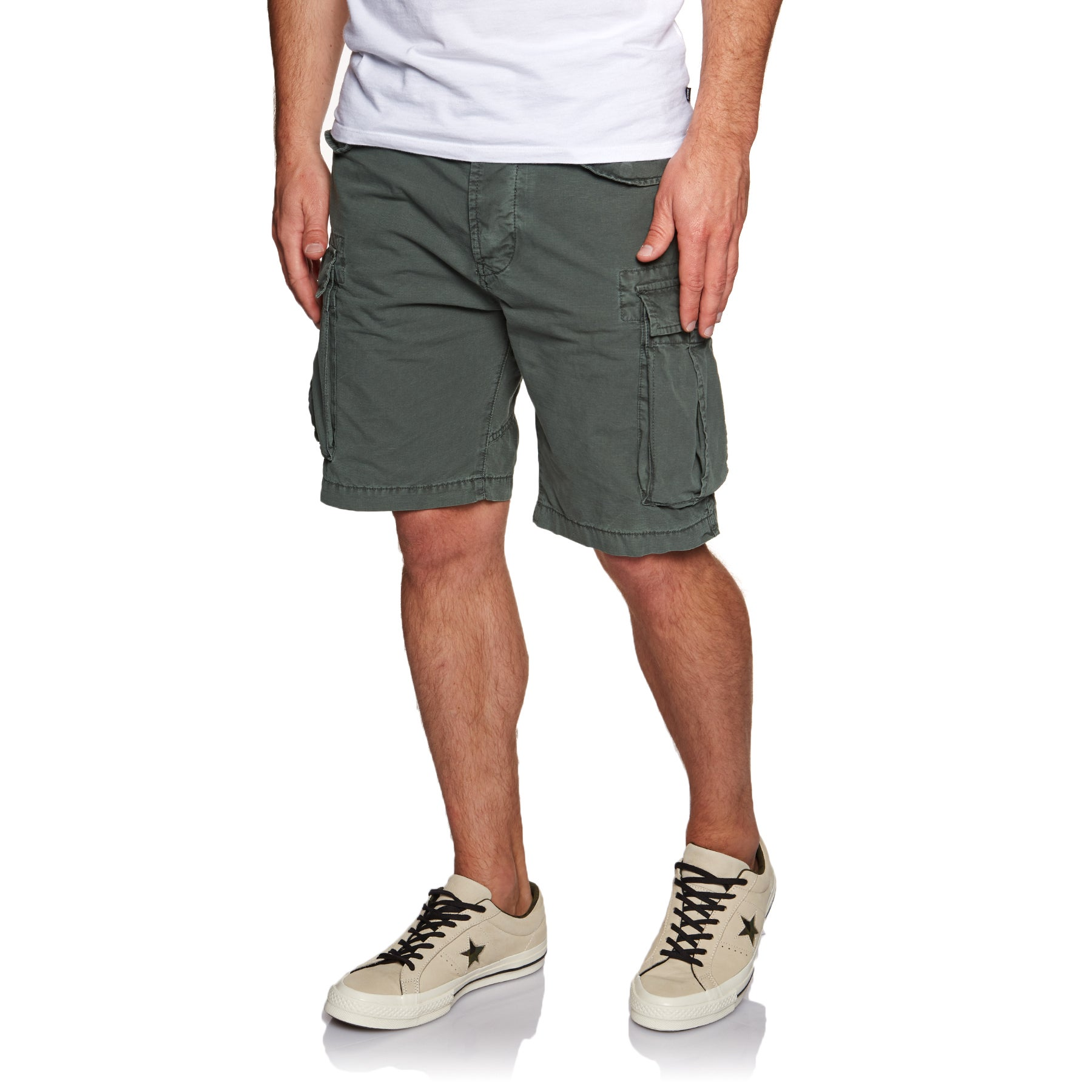 Superdry Core Lite Ripstop Cargo Walk Shorts - Oil Skin