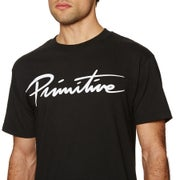 Primitive Nuevo Script Core Short Sleeve T-Shirt