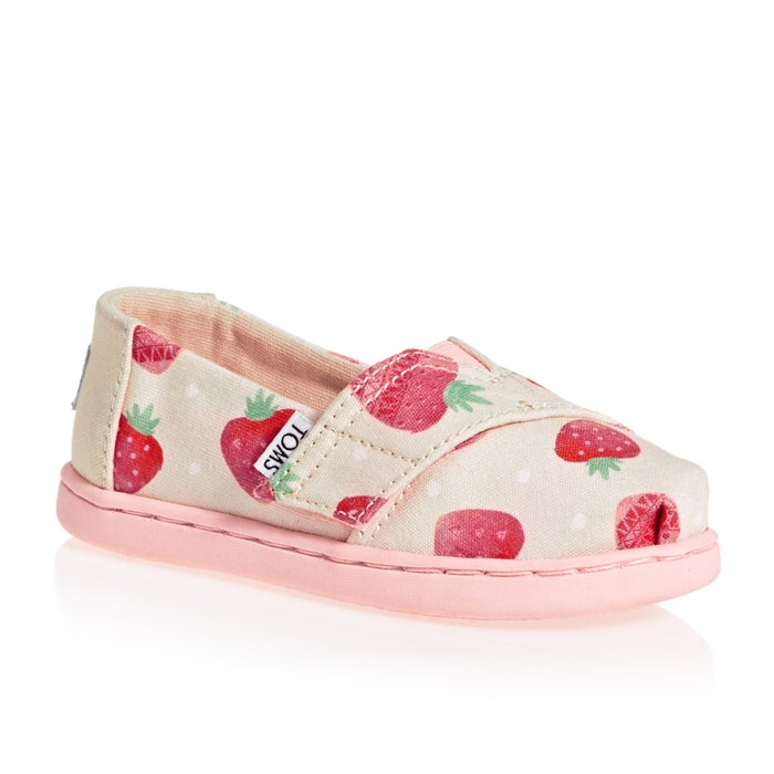 cdd5cc6d766 Toms Alpargata Classic Girls Slip On Shoes available from Surfdome