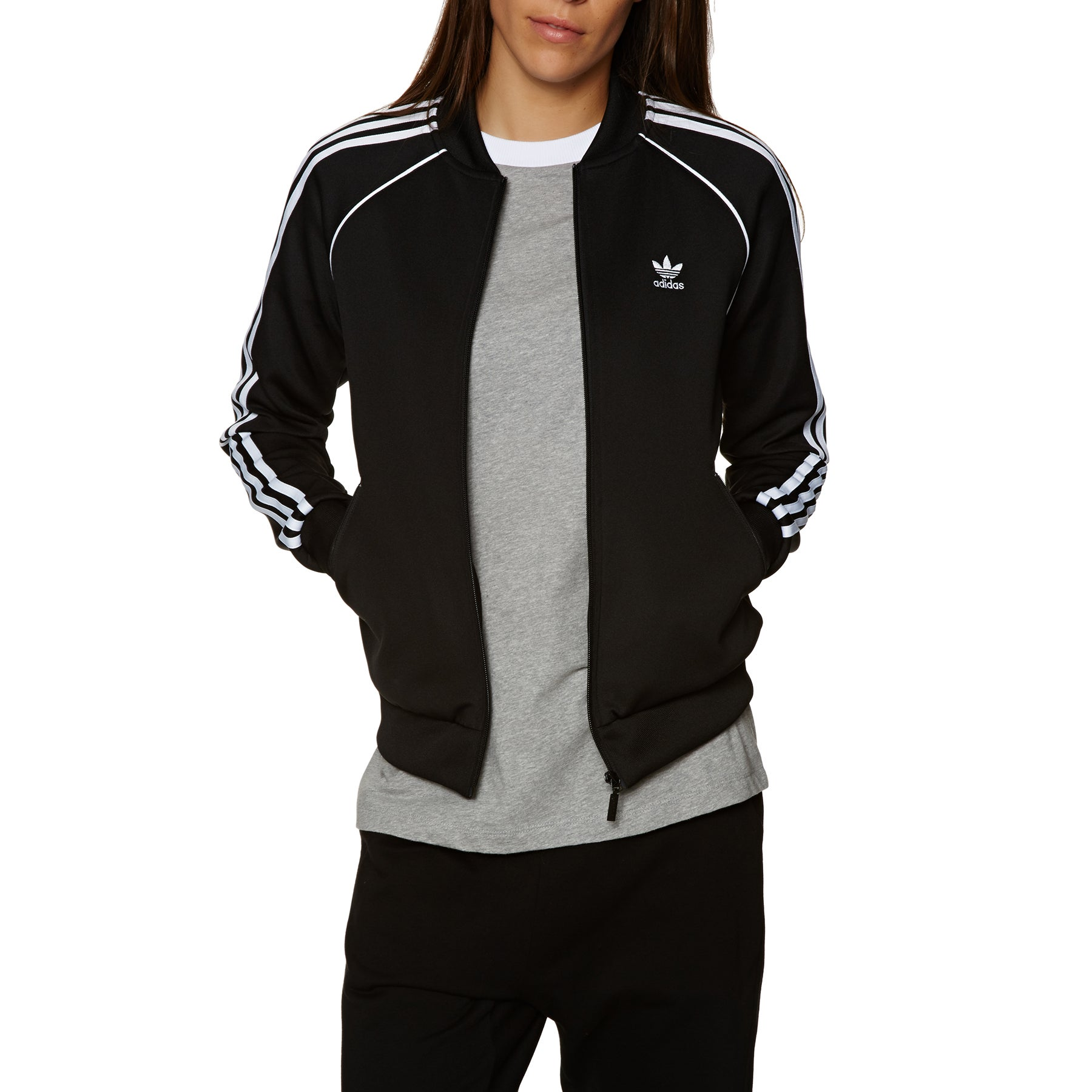 Adidas Originals SST Womens Track Jacket - Black