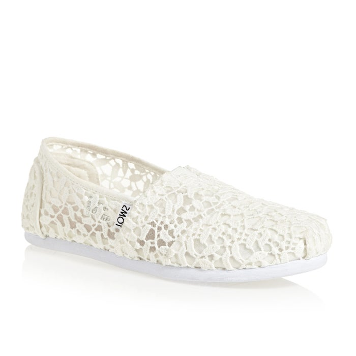 cdff650d93e Toms Alpargata Lace Womens Slip On Shoes available from Surfdome